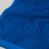 toalla azul lisa diagonal