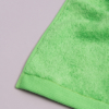 toalla verde lisa diagonal 1