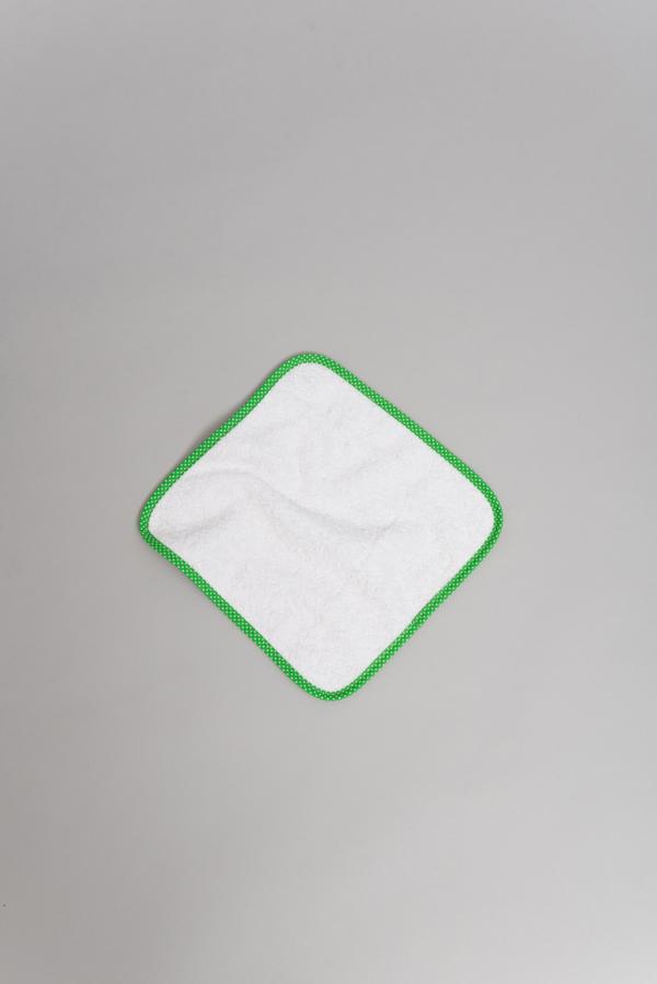 Paño antimicrobiano verde pequeño