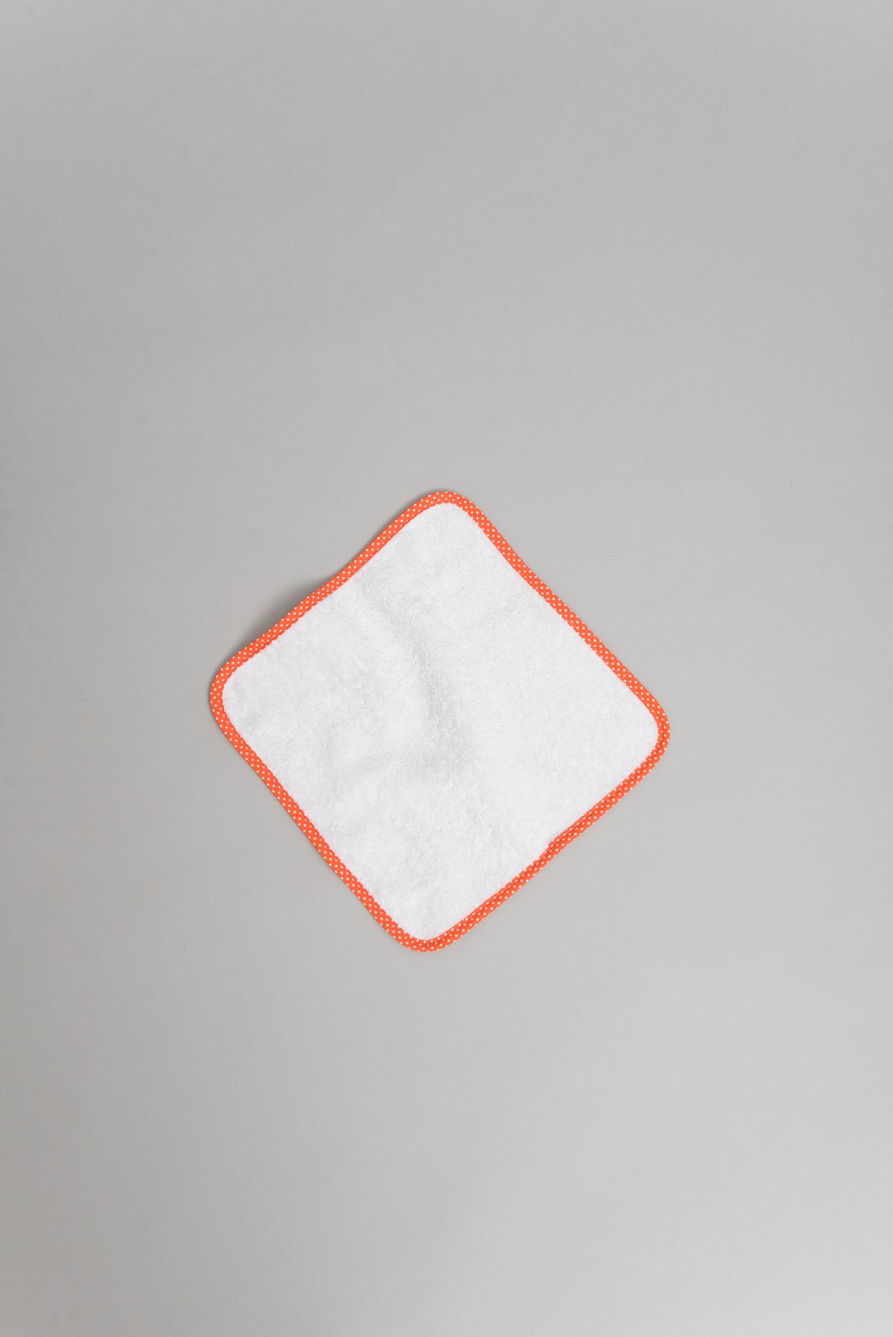 Small orange Antimicrobial cloth