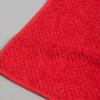 Toalla roja efecto granité
